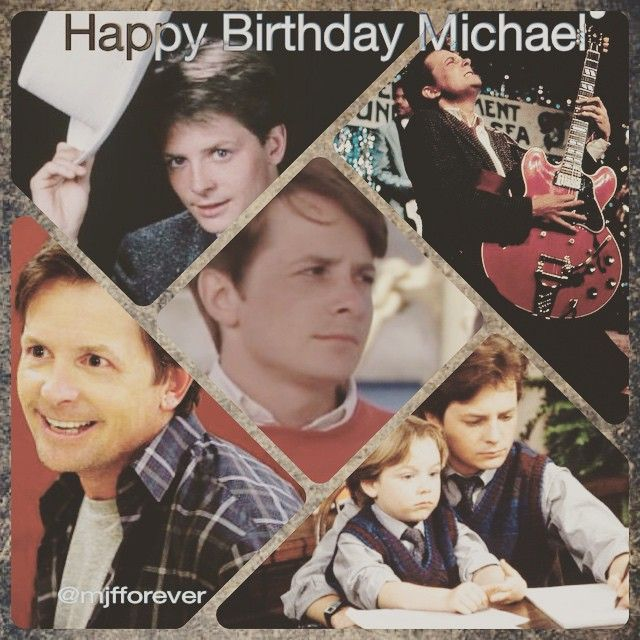 ❤️ #michaeljfox #mjfox #cutie #birthday