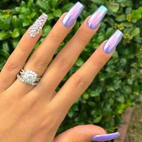 Coffin Nails - 40 of the Best Coffin Nails for 2020 - FavNailArt.com