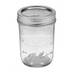 Half Pint 240ml Regular Mouth Jars Diameter 70mm Ball