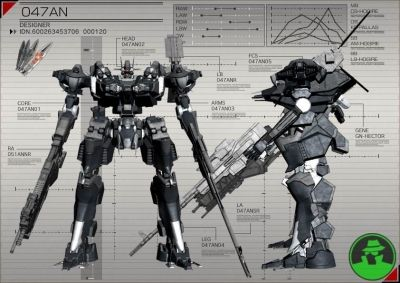 Armored Core // I have play all saga, right know I'm on the 5 for PS