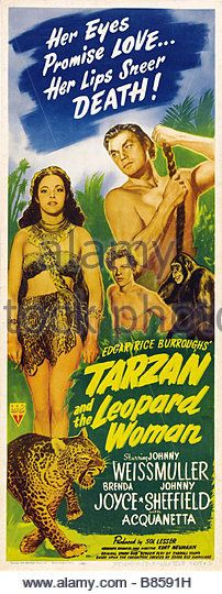Download Tarzan and the Leopard Woman Full-Movie Free