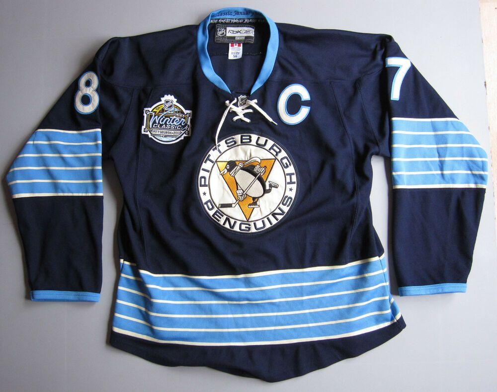 Sidney Crosby Pittsburgh Penguins 87 jersey Size 56 2011 Hockey Winter  Classic  PittsburghPenguins 655651fc2