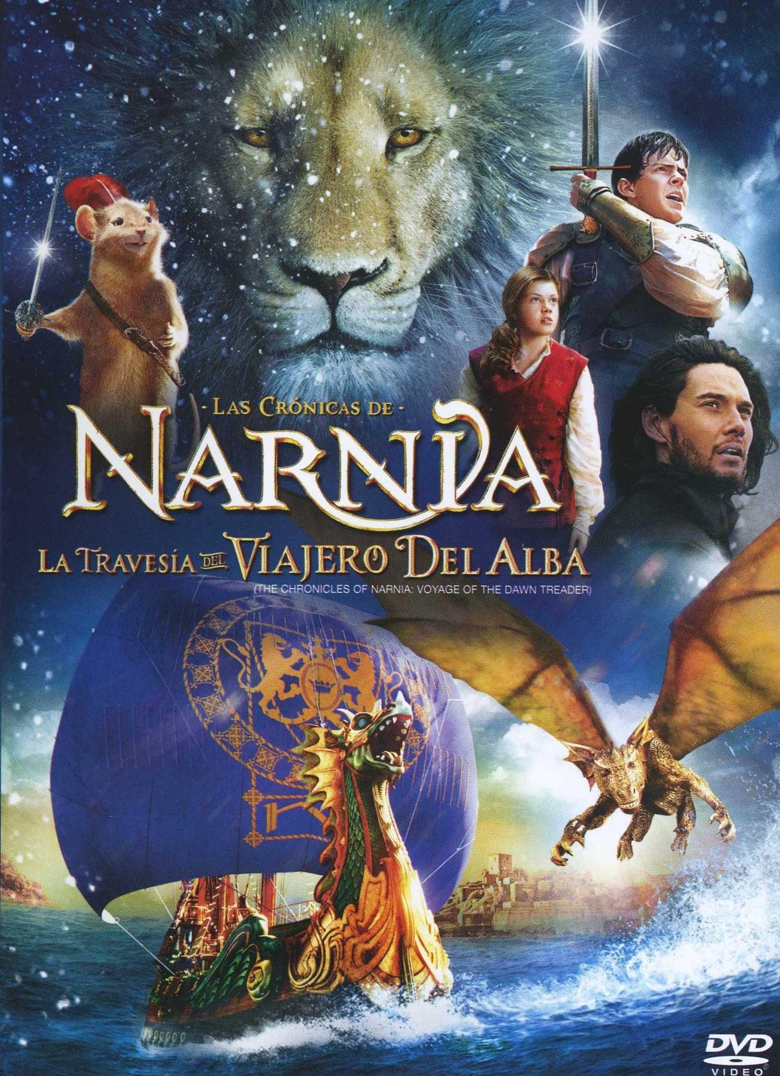 Las Cronicas De Narnia La Travesia Del Viajero Del Alba Las Cronicas De Narnia Narnia Peliculas Completas En Castellano