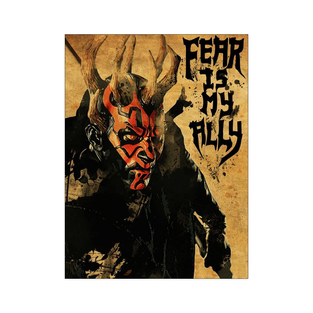 Fear is my ally poster