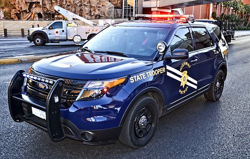 Nevada Department Of Public Safety State Trooper Highway Patrol Police Cars Police Truck Ford Police