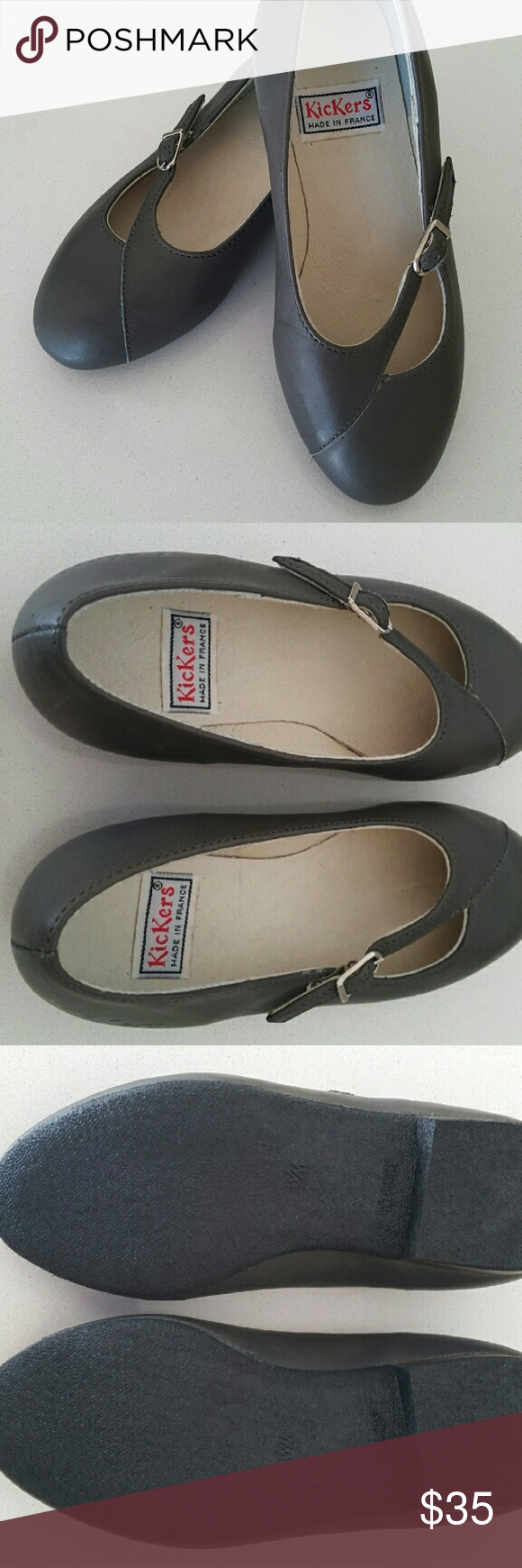 Vintage slip on Kickers These are a pair of 80's vintage