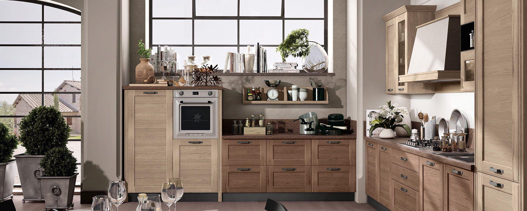 cucine moderne contemporanee stosa - modello cucina york 09 | con ...