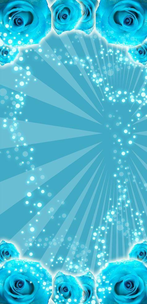 Fondo Azul Para Invitaciones De Xv Años Imagui H Blue