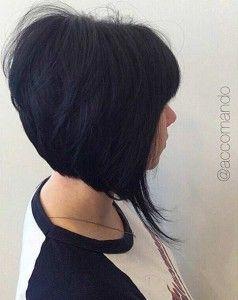 Short Inverted Bob Haircut Idea