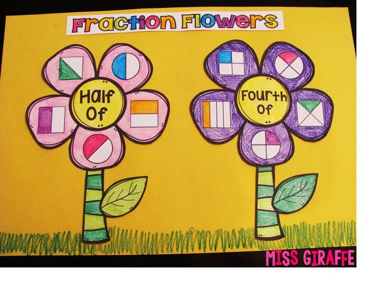 Fractions in First Grade | Fractions | First grade math