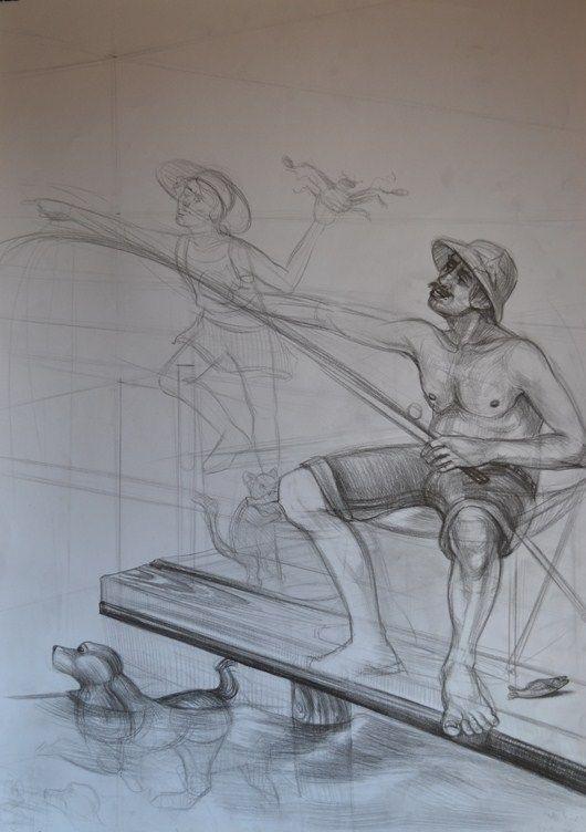 Karakalem Imgesel Cizimi Gsf Hazirlik Figur Cizimleri Cizim