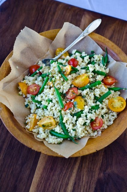 bliss blog - blissful eats with tina jeffers: Summer millet salad with tarragonvinaigrette