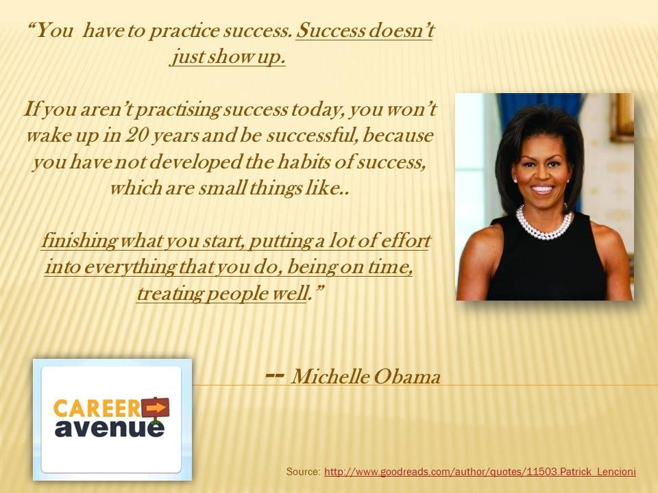 Inspirational Career Quotes Michelle Obama Words Pinterest - michelle obama resume