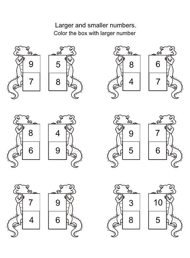 Pin by Liliya Mehaya on Number Worksheets | Pinterest | Number ...