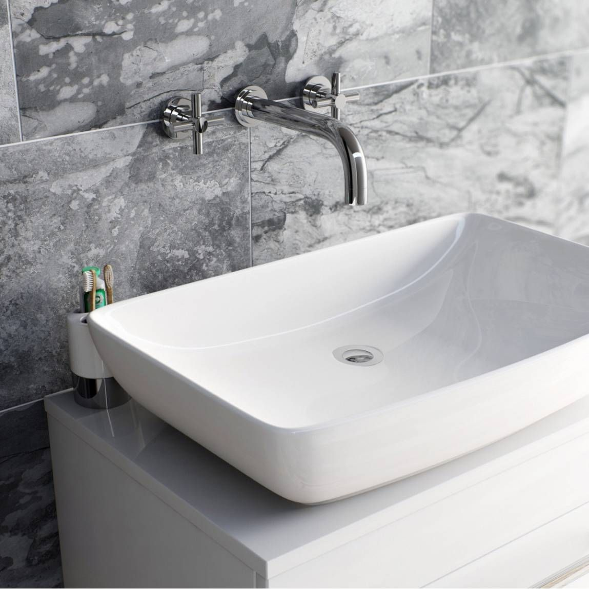 Which bathroom tap should you choose?   Bathroom taps, Wall mounted ...