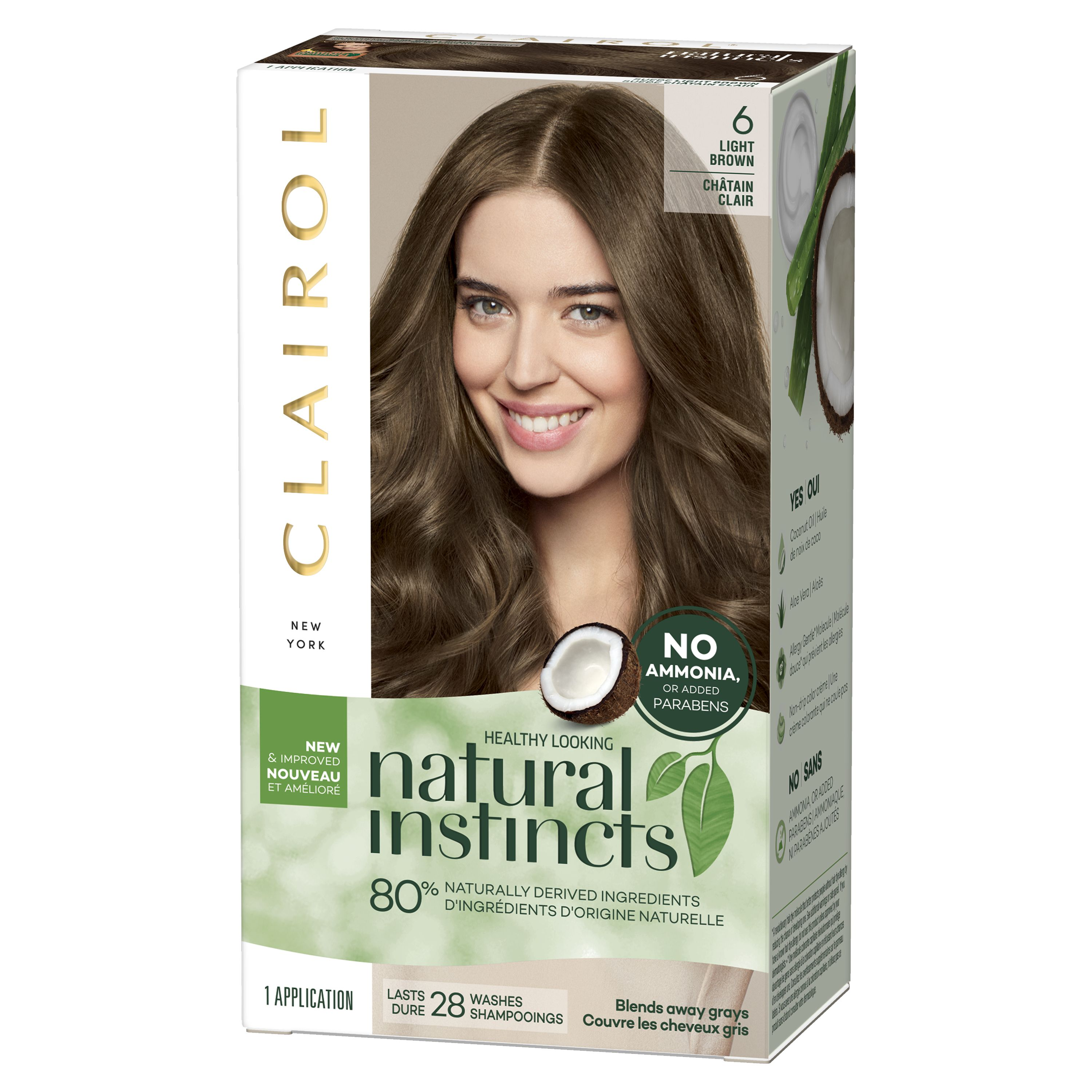 Clairol Natural Instincts Hair Color 9 Light Blonde Clairol