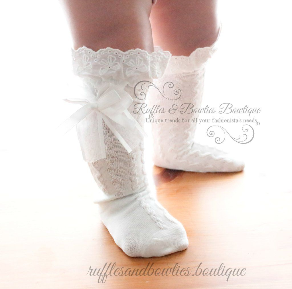 Customer favorite baby girls knee high boot socks girl outfits