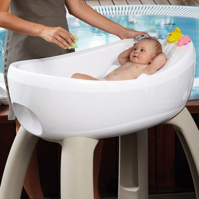 Yeah, it's pretty much a fancy jacuzzi that fits your baby ...