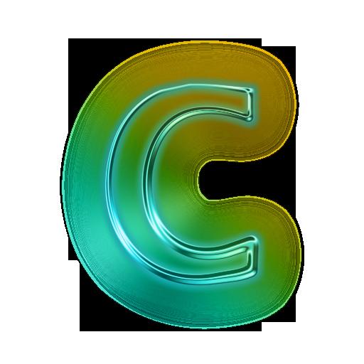 Letter C Wallpaper Letter Symbols Lettering Letter Icon