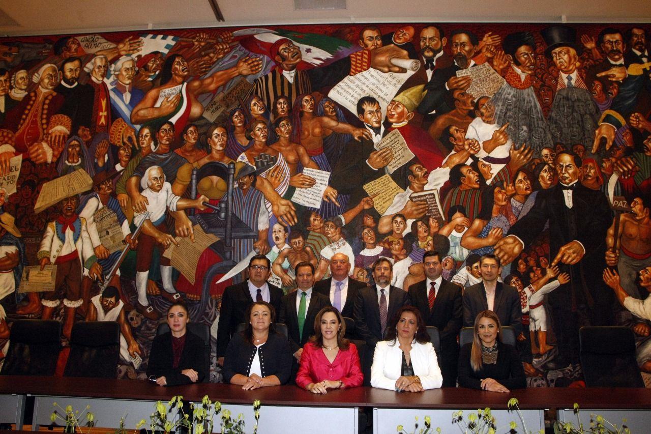 Jefe de Gobierno se reunió con la Red de Radiodifusoras y Televisoras Educativas y Culturales de México