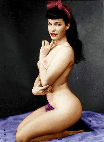 bettie page color # 56