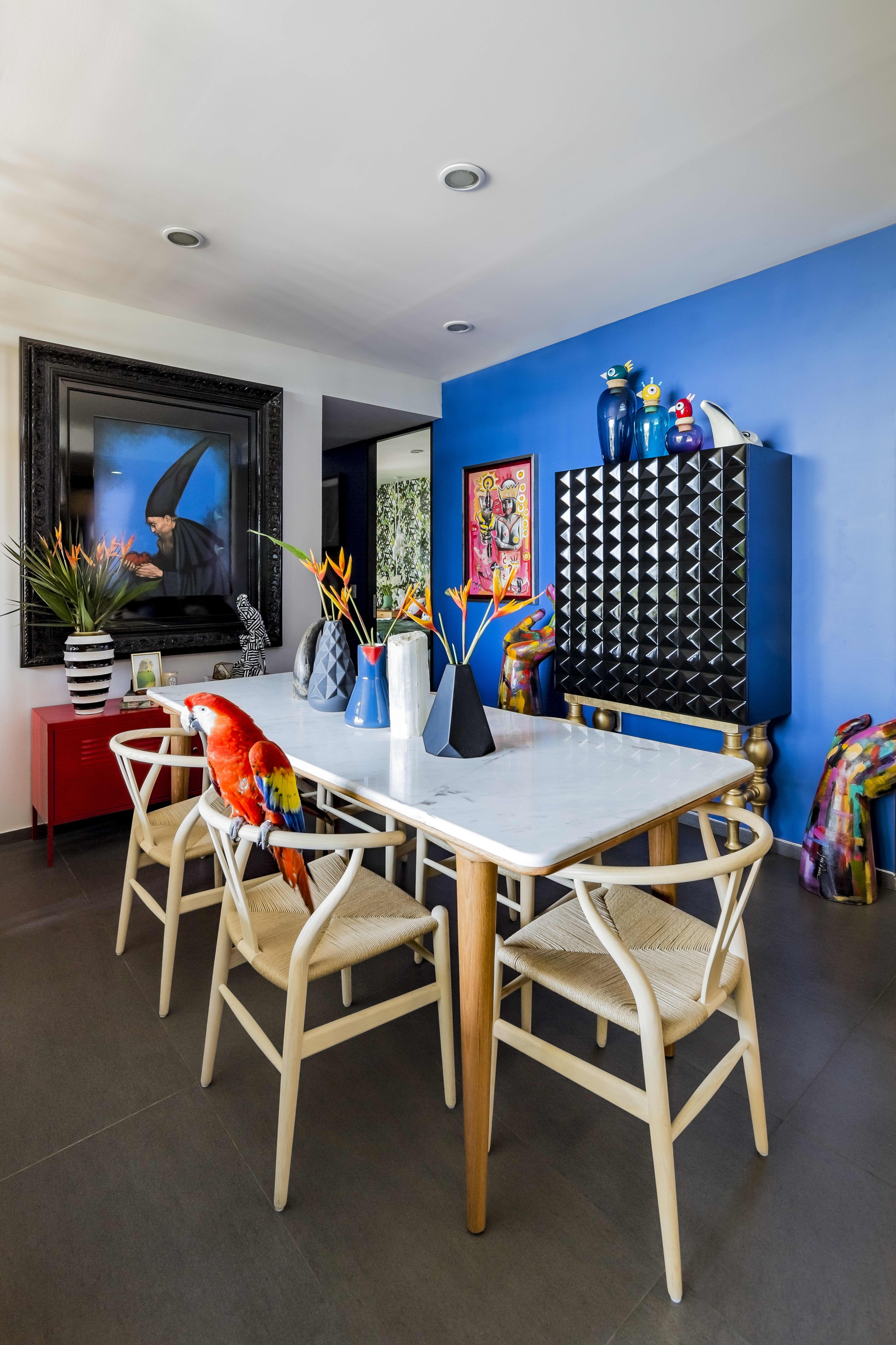 A Colorful Home In Mexico Celebrating Eclectic Maximalism House Colors Home House