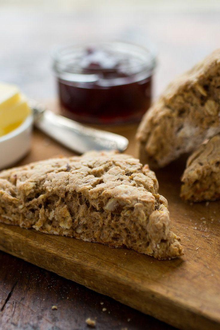 Whole Wheat Apple Pecan Scones Recipe Recipe Scone Recipe Recipes Scones