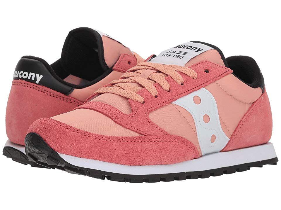 pretty nice 25d1d 1003c Saucony Originals Jazz Low Pro (Coral White 1) Women s Classic Shoes. This