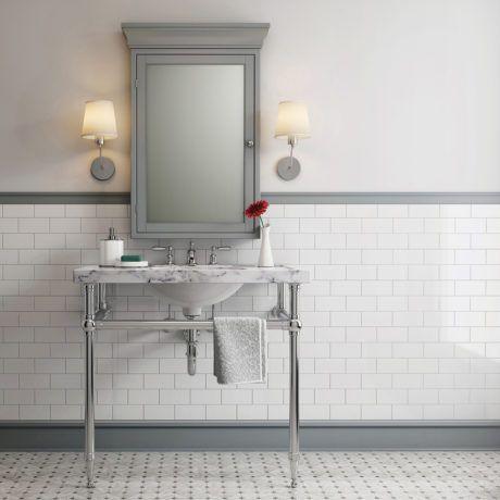 kristen wendland master | navy blue bathroom decor, blue