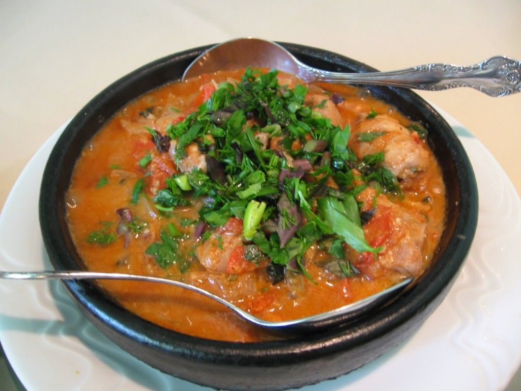 Chicken Kharcho soup: cooking recipe with photos 31