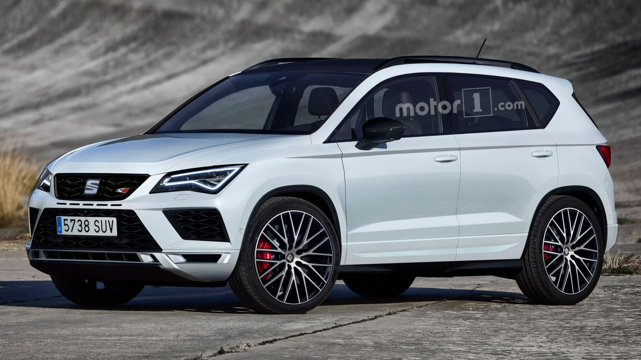 Seat Ateca Cupra Might Look Like This Pretty Cars Suv Car Lease