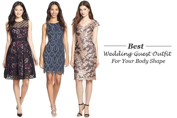 For a flattering wedding guest outfit get your inspiration from the body shape rules.