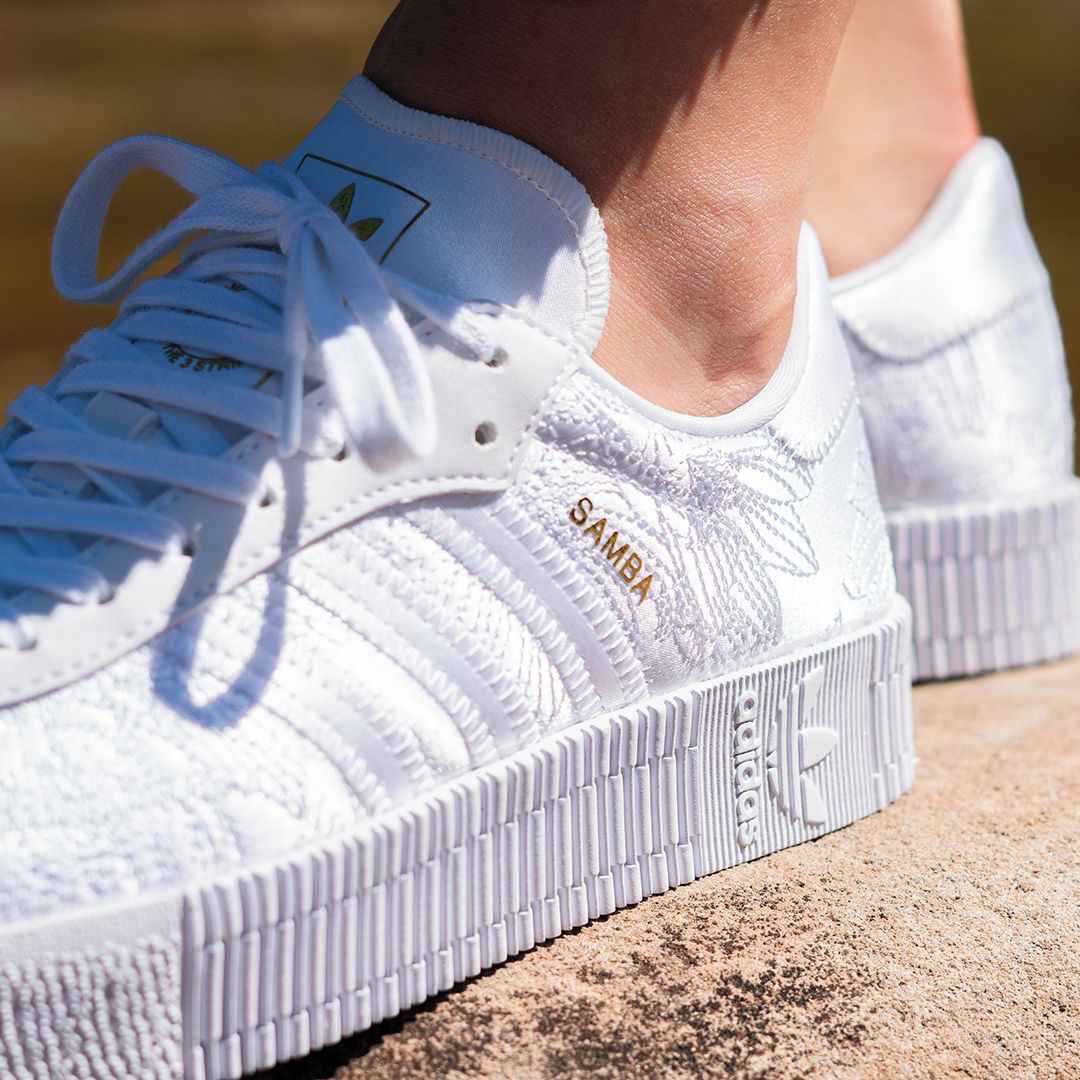 Adidas Originals Sambarose W Lace Pack In 2020 Adidas Sneaker Adidas Originals Sneaker Sneaker Trend