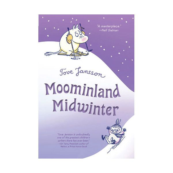 Everyone knows the Moomins sleep through the winter. But this year, Moomintroll has woken up early. So while the rest of the family slumber, he decides to visit his favorite summer haunts. But all he finds is this strange white stuff. Even the sun is gone! Moomintroll is angry: whoever Winter is, she has some nerve. Determined to discover the truth about this most mysterious of all seasons, Moomintroll goes where no Moomin has gone before.