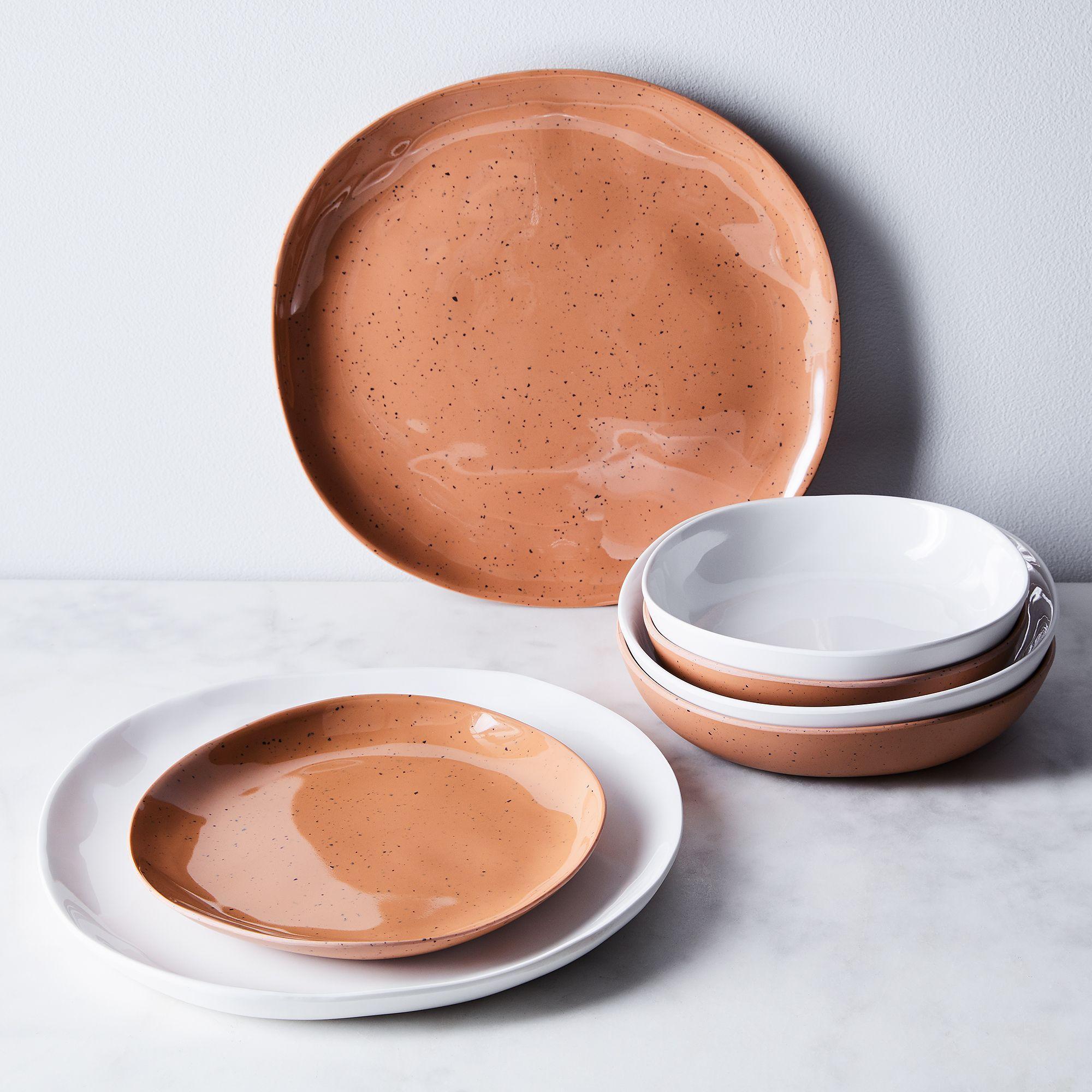 Sandia Melamine Dinnerware Set Of 6 Melamine Dinnerware Sets Ceramic Dinnerware Dinnerware