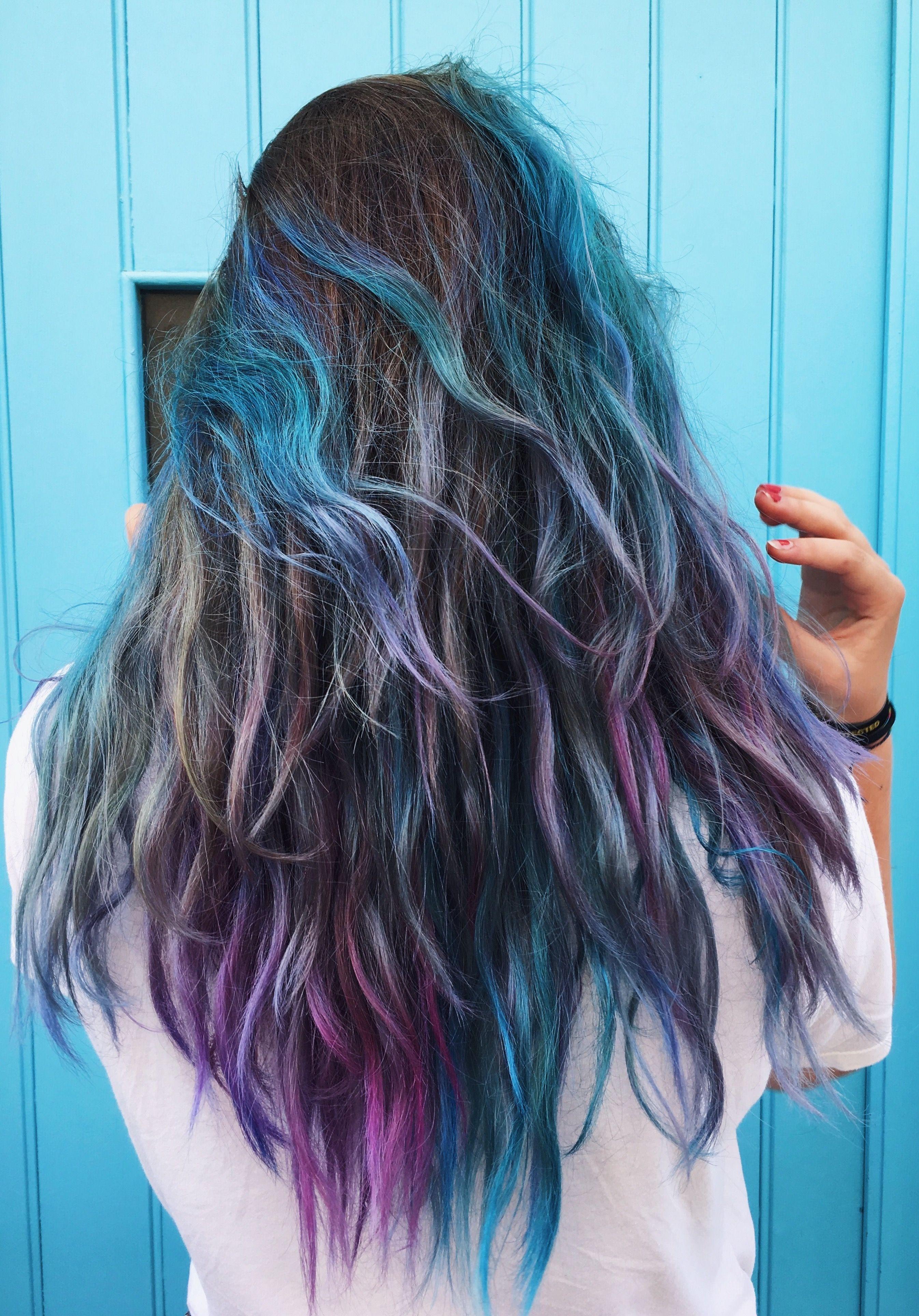 Colorful Hair Crazycolor Instafelizx Hair Inspo Pinterest