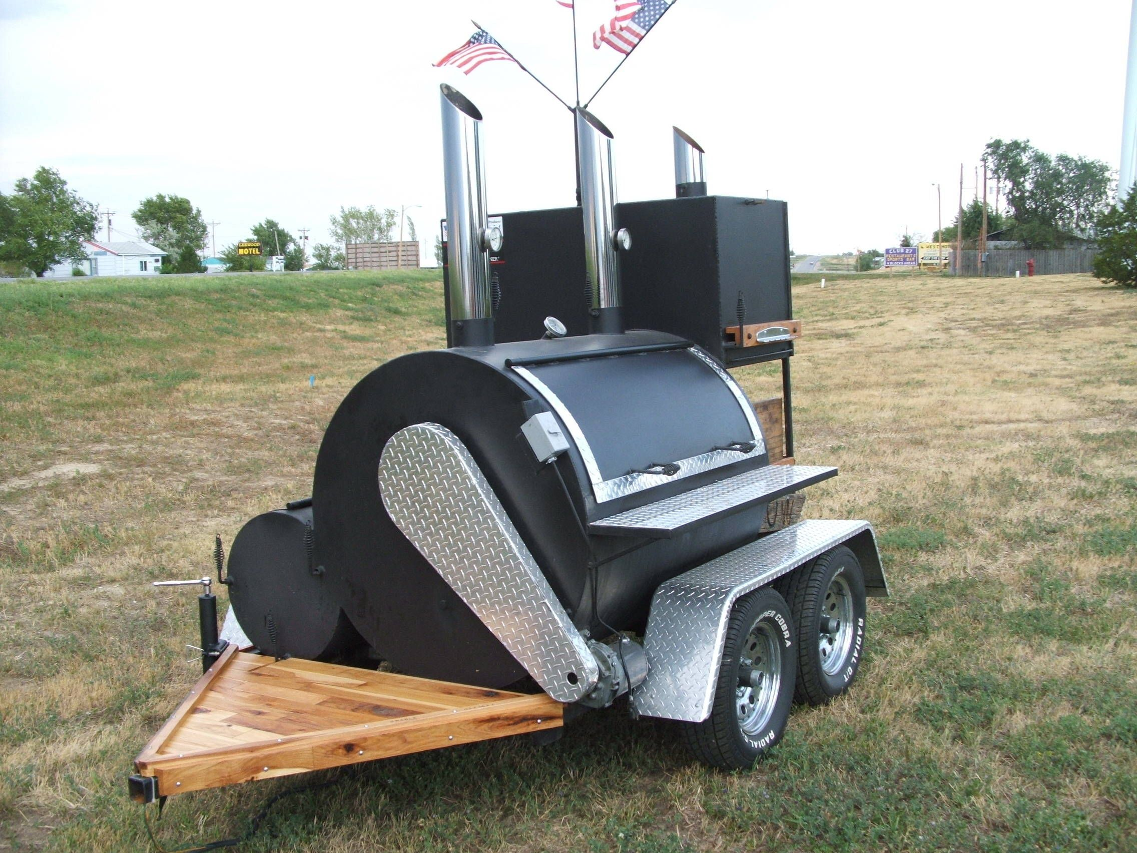 Smoke bomb submit an entry show off your custom bbq smoker