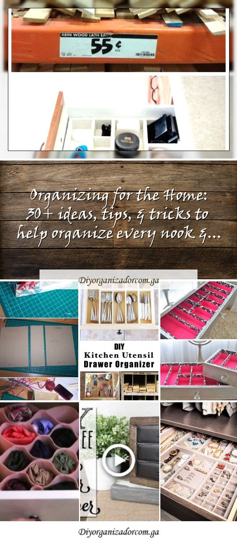 DIY cardboard organizer boxDIY cardboard organizer box15 innovative ideas for organizing and storing DIY kitchens Keep your kitchen organized Homelovr...