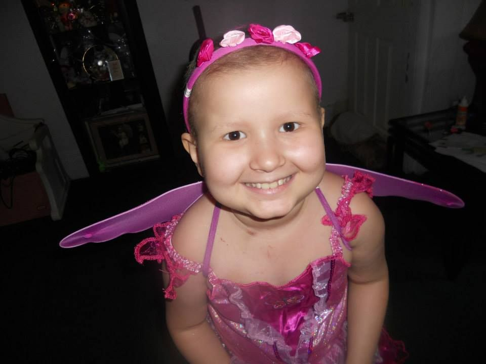 "Tammy Pierson:   ""Xaria was diagnosed in 2009 with acute lyphoblastic leukemia she went thru treatment and was cancer free for one year and two months july 9 2012 she was diagnosed with a relapse so she went back on treatments of aggressive chemo november 18th 2013 she lost her life to pseudomonas an infection she got in her lungs from the chemo..xarias smile radiated she was the bravest child ive ever know..it was my honor to be her mom.""  #EndChildhoodCancer #GoGold"
