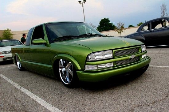 Custom Parts 2000 Chevrolet S10 Custom Rims Custom Body Work