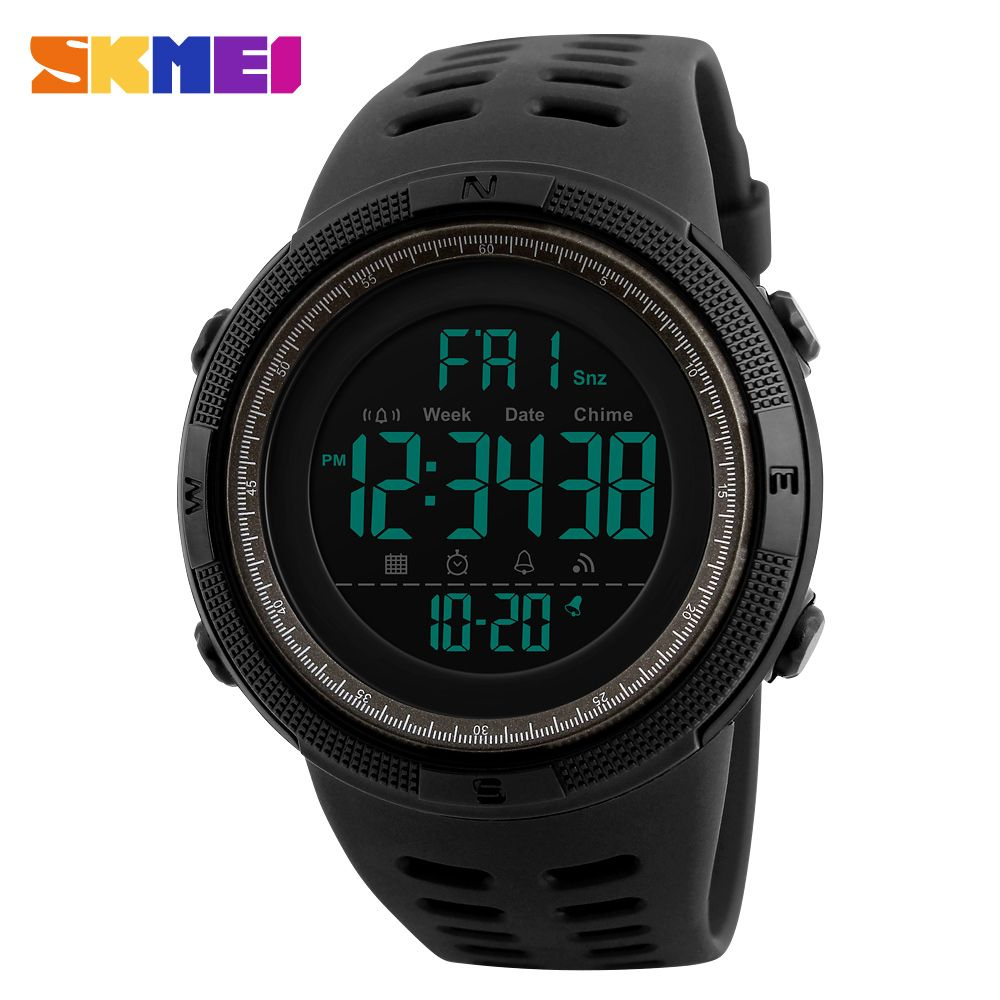 6dd5603e1b1 Men Military Sport Watch SKMEI Brand Luxury Countdown Watches For Men  Outdoor Digital Watch Male Clock