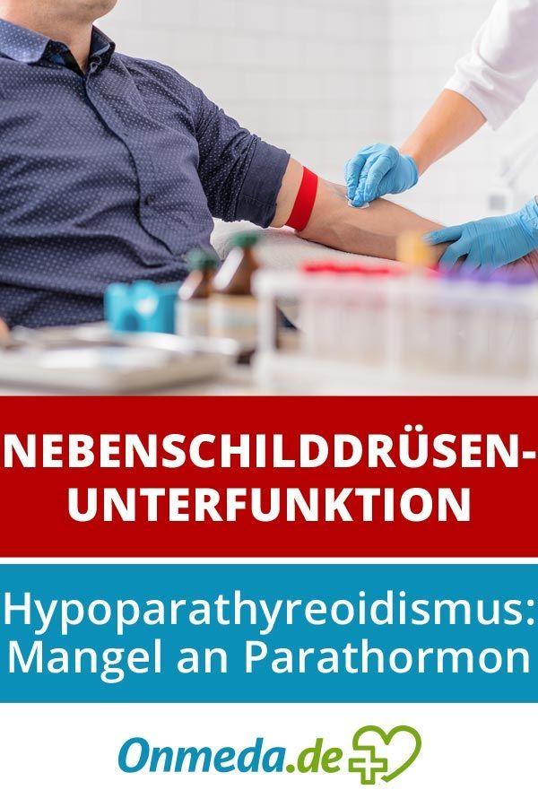 Typisch für Hypoparathyreoidismus sind  niedrige Calciumwerte und erhöhte Phosphatwerte im Blut. Welche Folgen hat das?