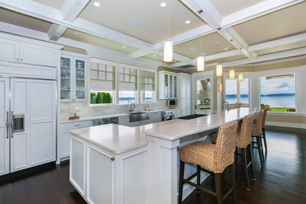Kitchen Designer Seattle Simple Wshg  Designer Fox Island Home Given A New Look With Small Design Decoration