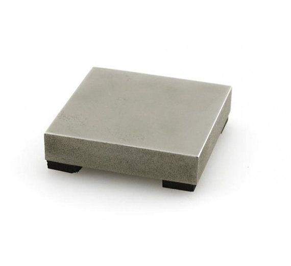 Impressart Mini Steel Bench Block 2 X 2 X 3 8 Perfect For Small Spaces Metal Stamping Bench Block Stamping Tools