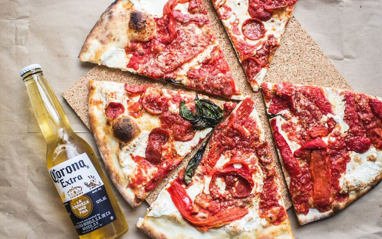 Pizza & Beer In Chelsea - Live the NYC life, in your apartment, with ...