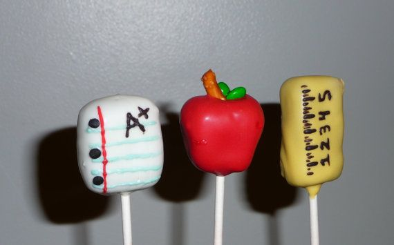 Items similar to 18 Back-To-School Cake Pops on Etsy