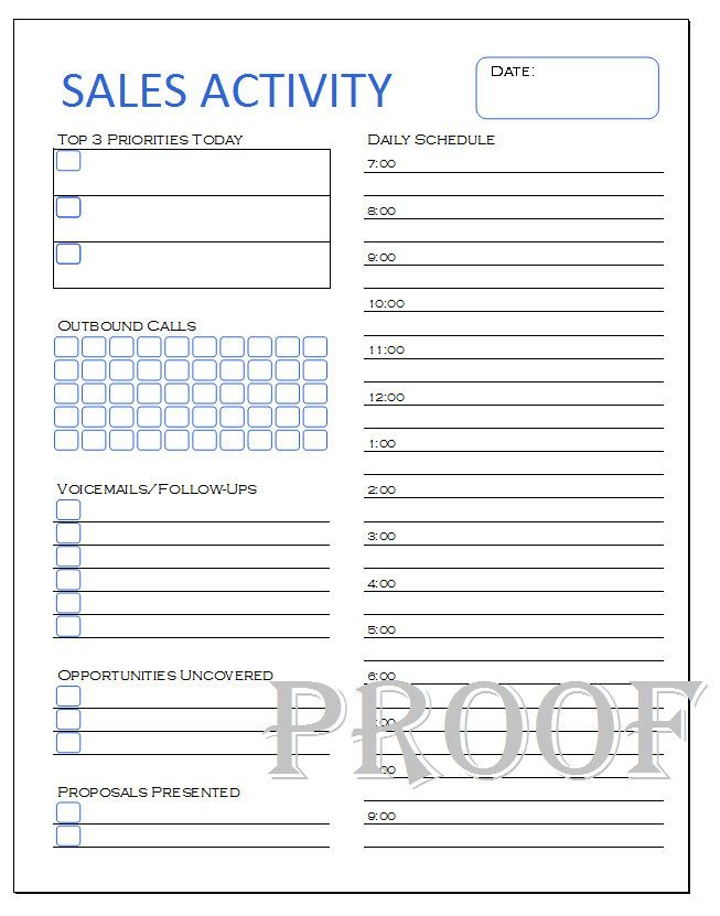 sales lead sheets