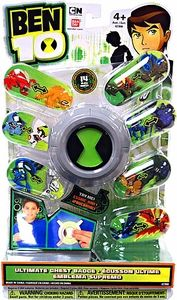 Ben 10 Roleplay Toy Ultimate Chest Badge Hot!
