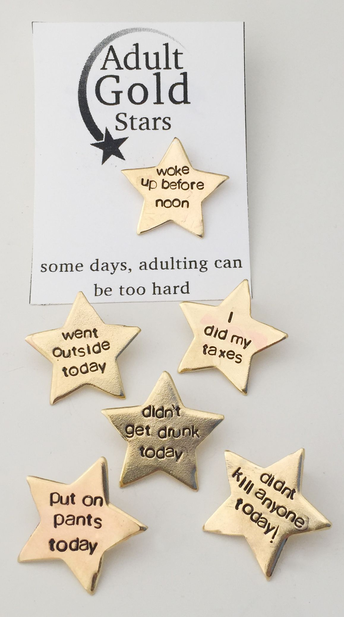 Adulting Gold Stars Because Sometimes Even You Deserve A Star