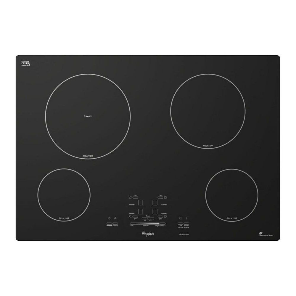Gci3061xb Whirlpool Gold 30 Induction Cooktop Black Airport Home Appliance Induction Cooktop Whirlpool Cooktop
